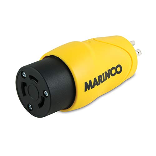 - Marinco/ Park Power S30-15 Adapter 30A Male Locking To