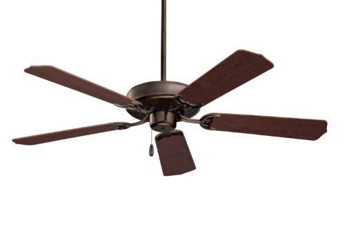 (Emerson Ceiling Fans CF700ORB Builder 52-Inch Energy Star Ceiling Fan, Light Kit Adaptable, Oil Rubbed Bronze Finish)