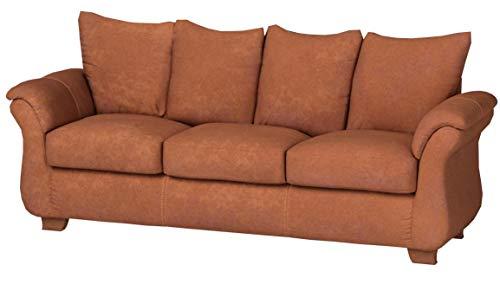 Roundhill Furniture LAF6700AC Sofa Loveseat Set, Chocolate