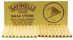 100 Savinelli 6Mm Balsa Filters (5 Packs)