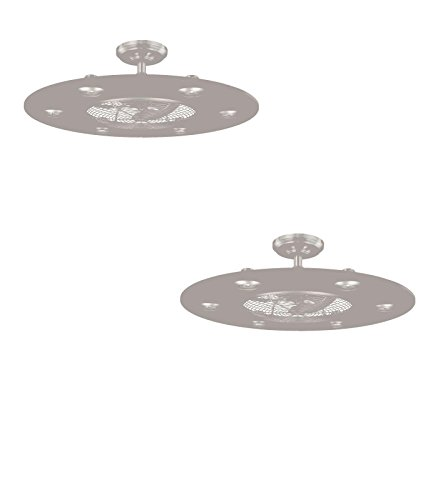 Set Of Two No Lp8076lbn Dexter 28 In Brushed Nickel