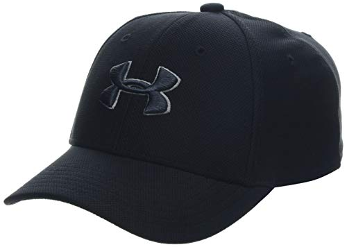 Under Armour Boys' Blitzing 3.0 Cap, Black (001)/Stealth Gray, Youth -