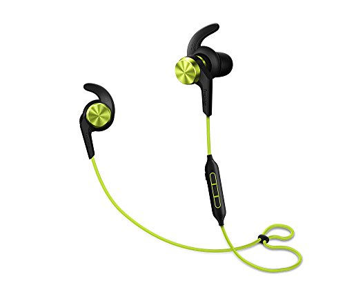 Price comparison product image 1MORE iBFree Bluetooth In-Ear Wireless Sport Headphones (Earphones/Earbuds/Headset) with Apple iOS and Android Compatible Microphone and Remote (Green)