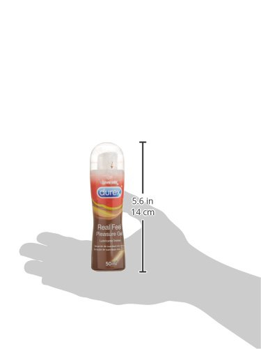 Amazon.com : DUREX REAL FEEL PLEASURE GEL LUBRICANTE INTIMO 50ML - ST : Beauty