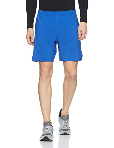 Under Armour Men's Launch 2-in-1 Shorts,Lapis Blue (984)/Reflective, Large by Under Armour (Image #1)