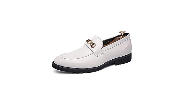 HILOTU Zapatos Formales De Ocio para Hombres Cómodos Zapatos De ...