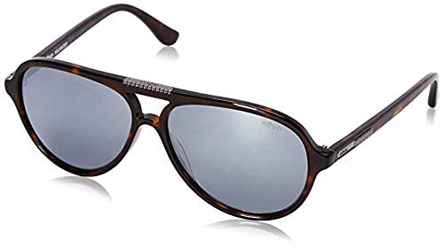 Revo Phoenix RE 1015 02 GGY Polarized Aviator Sunglasses, Tortoise, 58 mm