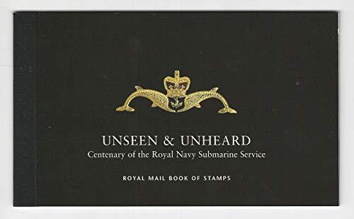 Great Britain, Postage Stamp, BK170 Booklet Mint NH, 2001 Submarine, JFZ