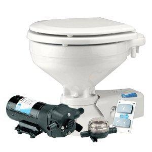 JABSCO REGULAR ELECTRIC TOILET W RAW WATER INTAKE SUPPLY PUM
