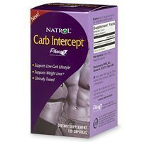 Natrol: haricot blanc Carb Intercept, 120 caps