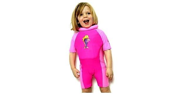 Swim Safe Bañador Flotador niña Soporte flotación Floatsuit Babysafe 4/5 años: Amazon.es: Deportes y aire libre