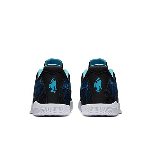 5 Herren Blau Textil Rage Synthetik NIKE 45 Basketballschuhe Mamba B81pFFwq
