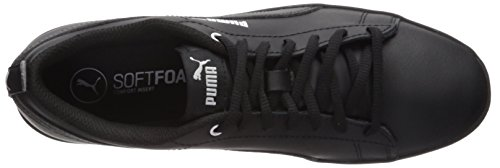 Puma Kvinna Krossa Wns V2 Läder Sneaker Puma Black-puma Black