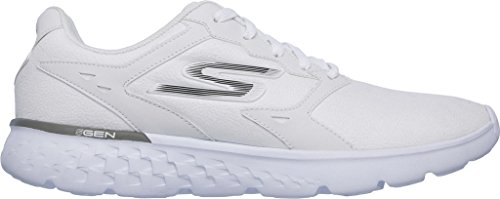 Skechers (SKEES) - Go Run 400 - Accelerate - Baskets Sportives, homme, blanc (wht), taille 44