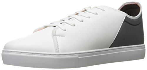 X Lycra Exchange Pu Sneaker A White Castor Grey Fashion Armani Men Lace Exchange Armani fxYqwS
