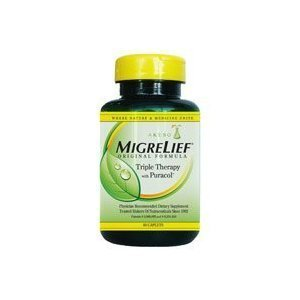 MigreLief Original Caplets for Migraine 180 Caplets (3 Bottles)