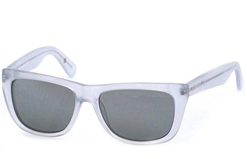 leicht Silber Matt Gläser Grün Clear Rahmen hombre para verspiegelt de FUNK Gafas sol wHP0v0