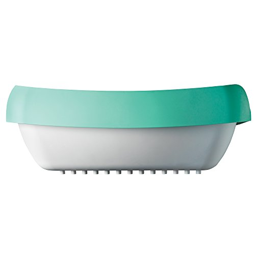 Luuup Litter Box - 3 Sifting Tray Cat Litter Box is Antimicrobial and Easy to Clean with Non-Stick Coating