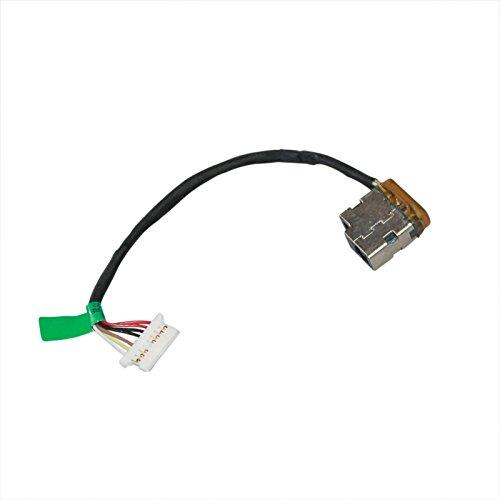 DC Power Jack Harness Cable for HP Pavilion 15-af131dx 15-af135nr 15-af139ca 17-u275cl 17-u292cl 17-u292cl 17-u294cl 17-u296cl by GinTai (Image #2)