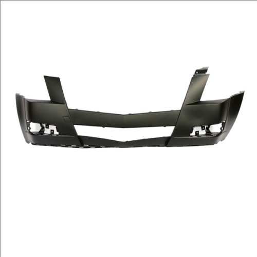 CarPartsDepot, Front Bumper Cover Black Primed Plastic Non-HID, 352-141295-10-PM GM1000855 25793663
