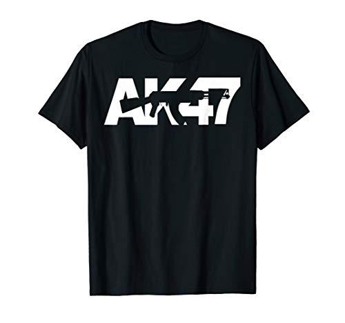 Ak47 CCCP Original AK Logo Gun lovers kalashnikov T-shirt (Clothing Ak47)