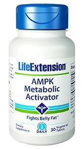 Life Extension AMPK Activator Capsules, 90 Count (Pack of 3)