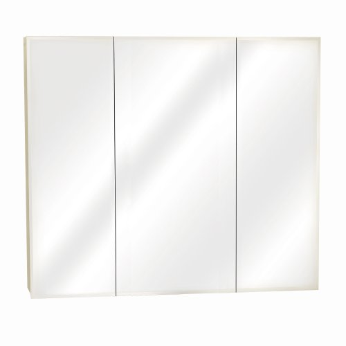 Zenith M36, Beveled Tri-View Medicine Cabinet, Frameless