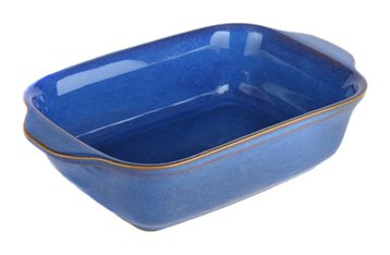 Denby Imperial Blue Small Oblong Dish