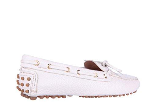 Car Shoe mocasines en piel mujer nuevo beige
