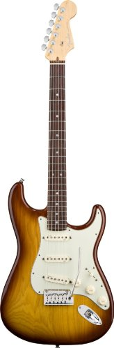 Fender American Deluxe Stratocaster, Ash Body, Rosewood Fretboard with Gear Guardian Extended Warranty - Tobacco Sunburst