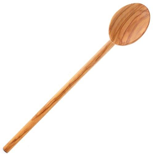 Eddingtons Italian Olive Wood Spoon, 13.5-Inch (Cupcake Italian Charm)