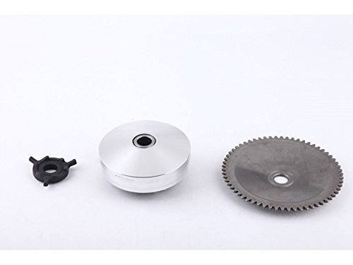 139QMB GY6 50CC Complete Variator Kit with 8.5g roller weights