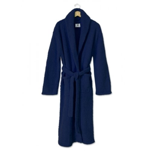 Kashwere Shawl Collared Robe in Navy Size large