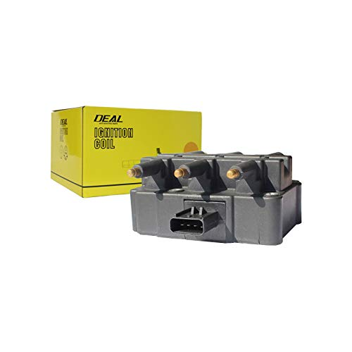 DEAL Brand New Ignition Coil Pack 6 in 1 Fit 2000-2010 Chrysler Town & Country Pacifica Voyager / 2001-2007 Dodge Caravan Grand Caravan / 2007-2011 Jeep Wrangler 3.3L 3.8L V6 UF305 ()