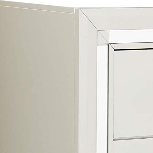 home, kitchen, furniture, bedroom furniture,  dressers 6 picture Global Furniture USA (1621 Riley Chest, Silver in USA