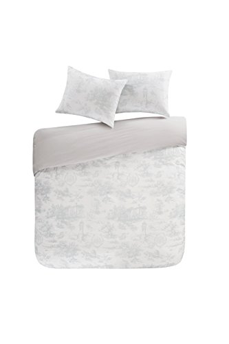 100/% Cotton SCM Fluid Stripe Printed Duvet Cover and Pillowcase Set Trendy