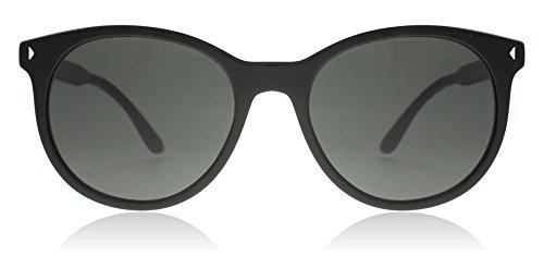Prada PR06TS 1AB5S0 Black PR06TS Round Sunglasses Lens Category 3 Size - Prada Deals