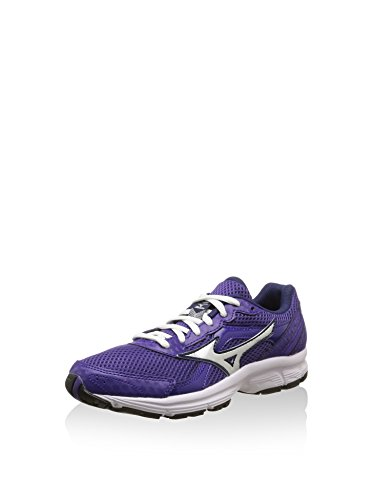 Mizuno - Mizuno Crusader 9 (W) Women's Running Shoes Violet Material 150405 Purple Silver Blue 18hL7