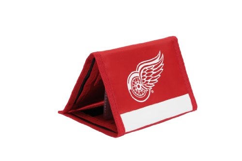 NHL Detroit Red Wings Trifold Nylon Wallet ()