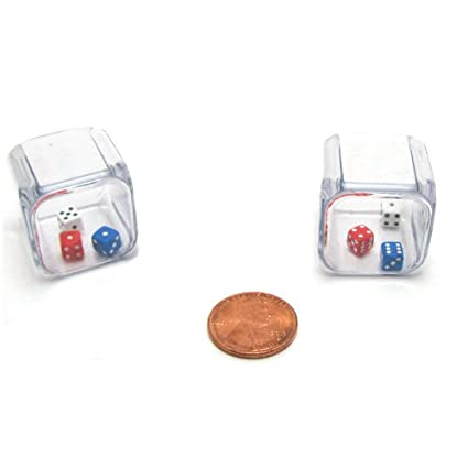 huge discount coupon codes later Koplow Games Set of 2 Six Sided 25mm 3-In-A-Cube Triple Dice
