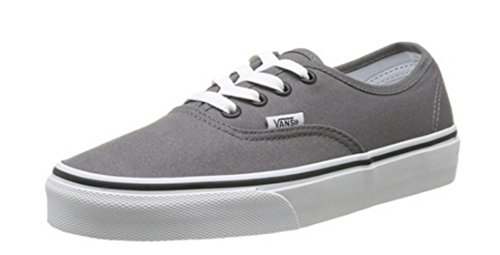 Bestelwagen Unisex Authentiek Stevig Canvas Skateboard Sneakers (pewter / Zwart)