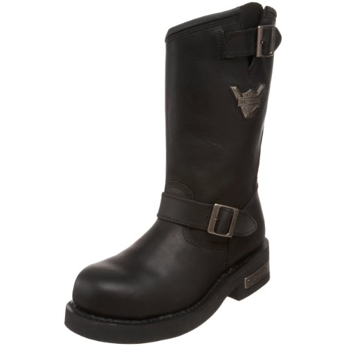 Harley-Davidson Men's Mega Conductor Boot,Black,7.5 W - Mens Conductor Boot
