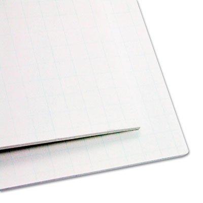 ELMERS 905100 Guide-Line Paper-Laminated Polystyrene Foam Display Board, 30 x 20, White, 2/PK