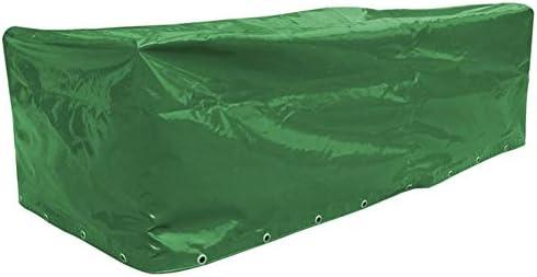con Ojal Patio Cubiertas para Muebles, Lona Pesada De PVC, 0,45 Mm De Espesor 100% Impermeable Anti-UV para Madera Al Aire Libre, Mesas Y Sillas (Color : Green, Size : 200x140x90cm): Amazon.es: Hogar