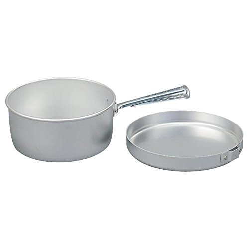 - Trangia - Camping Cook Set | Includes: 1.5 L Saucepan, 7 Inch Frypan, & Detachable Handle