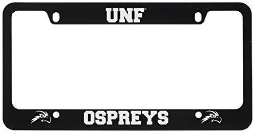 University of North Florida-Metal License Plate Frame-Black