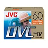 JVC MDV60DU5F1 6 Pack Mini DV Tapes