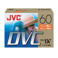 JVC MDV60DU5F1 6 Pack Mini DV Tapes by JVC