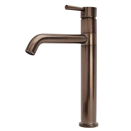 Fontaine Oil Rubbed Bronze European Swivel Arm Vessel Sink Faucet ()