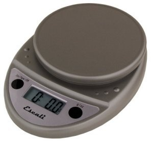 Escali Primo Digital Scale, 11 Lb / 5 Kg, Metallic, 1 ea
